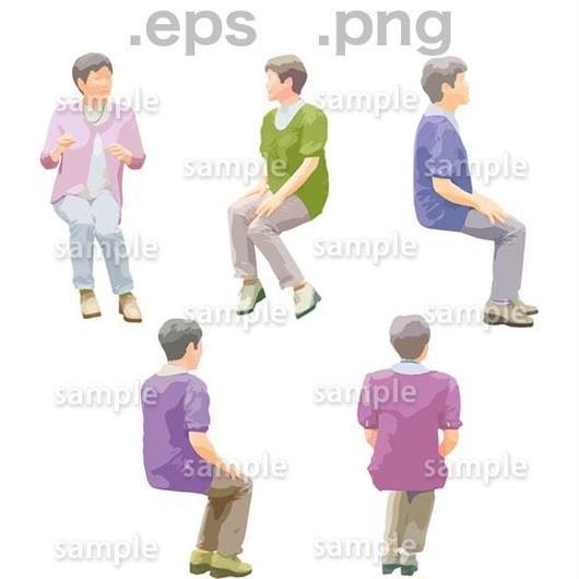 シニアイラスト (EPS , PNG )   se_172