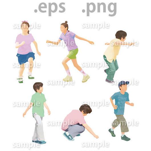 子供イラスト (EPS , PNG )   ch_014