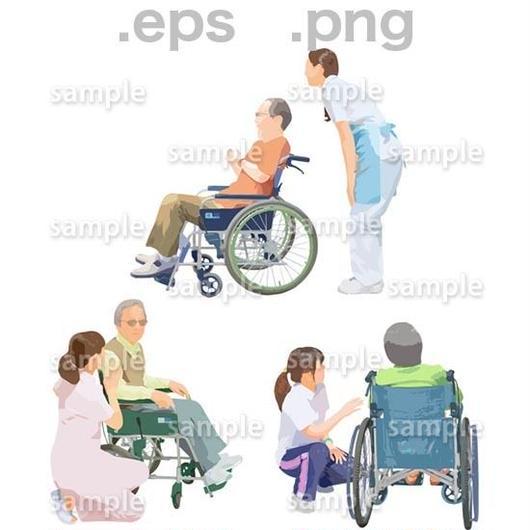 シニアイラスト (EPS , PNG )   se_218