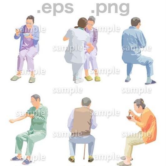 シニアイラスト (EPS , PNG )   se_252