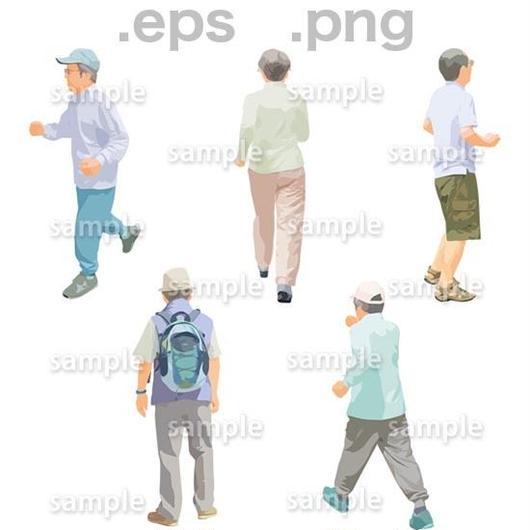 シニアイラスト (EPS , PNG )   se_148