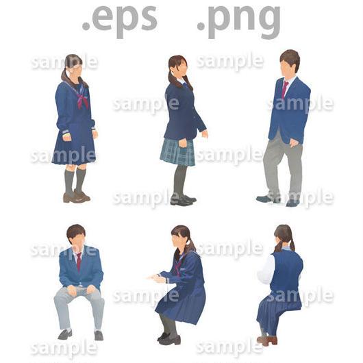 子供イラスト (EPS , PNG )   ch_020