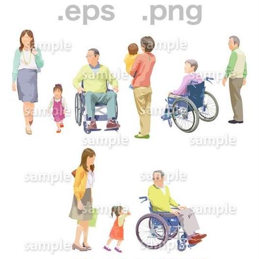 シニアイラスト (EPS , PNG )   se_199