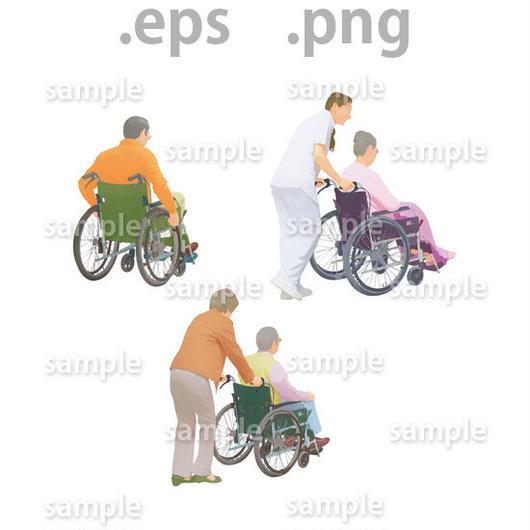 シニアイラスト (EPS , PNG )   se_017