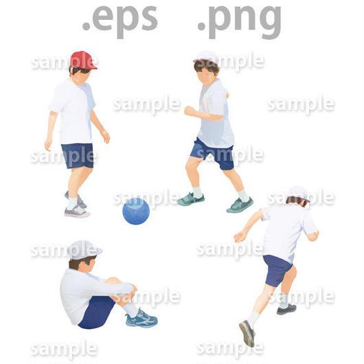 子供イラスト (EPS , PNG )   ch_017