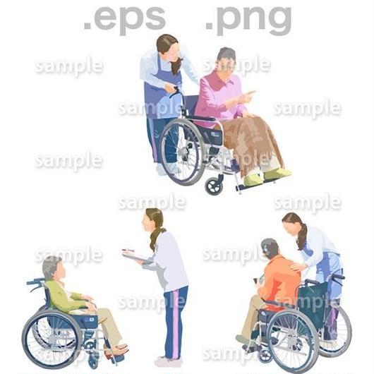 シニアイラスト (EPS , PNG )   se_204