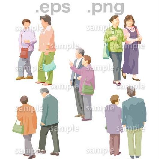 シニアイラスト (EPS , PNG )   se_023