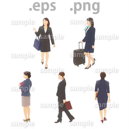 ビジネス人物イラスト (EPS , PNG )   bu_016