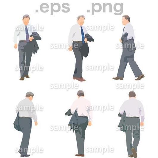 シニアイラスト (EPS , PNG )   se_037