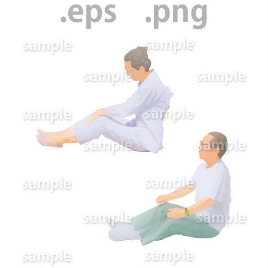 シニアイラスト (EPS , PNG )   se_019