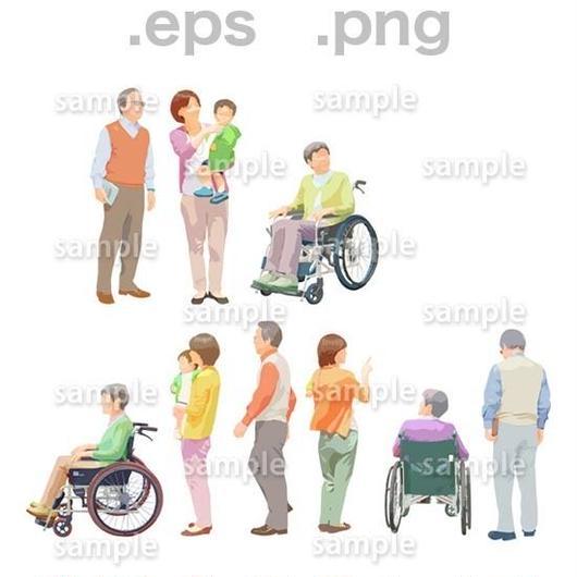 シニアイラスト (EPS , PNG )   se_201