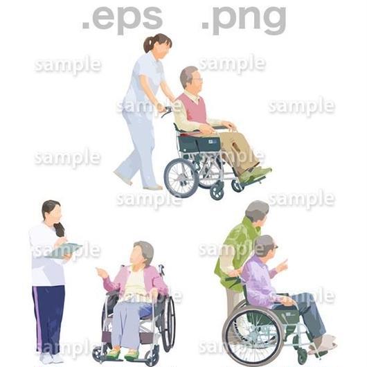 シニアイラスト (EPS , PNG )   se_202