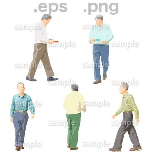 シニアイラスト (EPS , PNG )   se_038