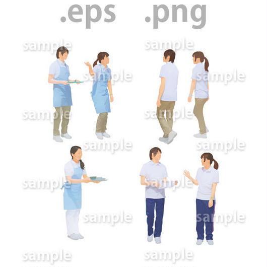介護士イラスト (EPS , PNG )   se_020