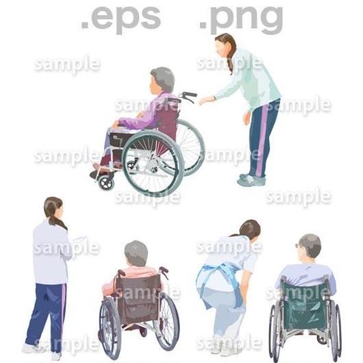 シニアイラスト (EPS , PNG )   se_205