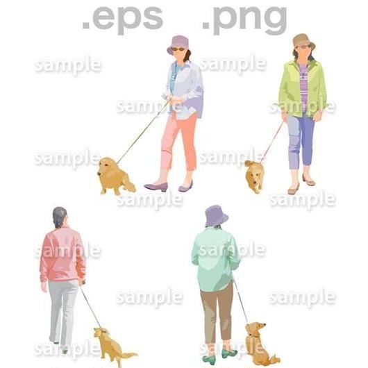 シニアイラスト (EPS , PNG )   se_246