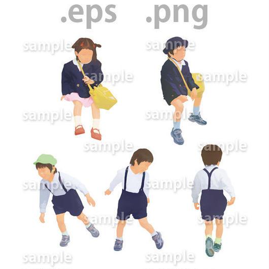 子供イラスト (EPS , PNG )   ch_010