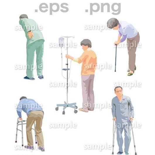 シニアイラスト (EPS , PNG )   se_240