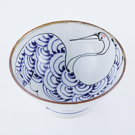 【食を楽しく】日本の伝統、波佐見焼で贅沢なおうちご飯を。<鶴と亀のお茶碗>