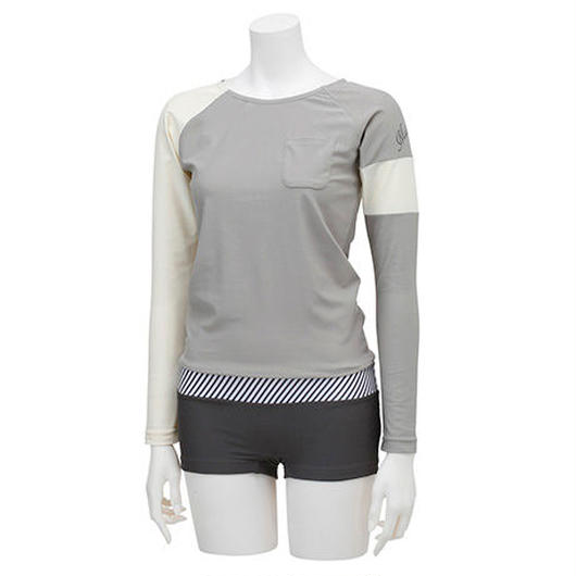 RASH GUARD WITH HOT PANTS (ラッシュガード1体型) 21W13/71S