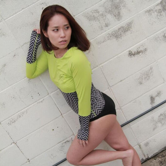 Rash Guard with Bikini Pants (ラッシュガード1体型) 21W08/61S