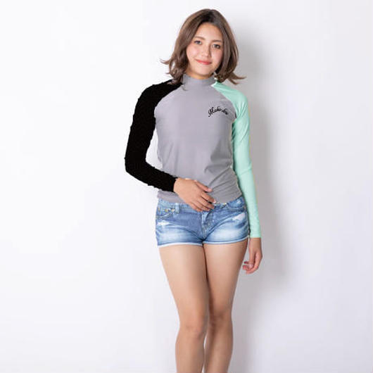 ラッシュパンツ1体型水着 【21W19-91S】MAKA-HOU Rash Guard All in one