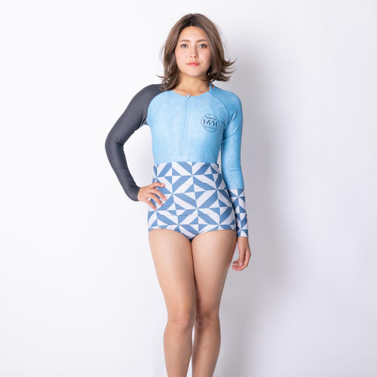 ラッシュビキニ1体型 【21W15-81S】Exceed Rash Guard All in one