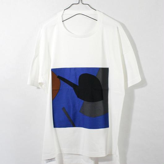ASENDADA T-shirt  / White×Fresh