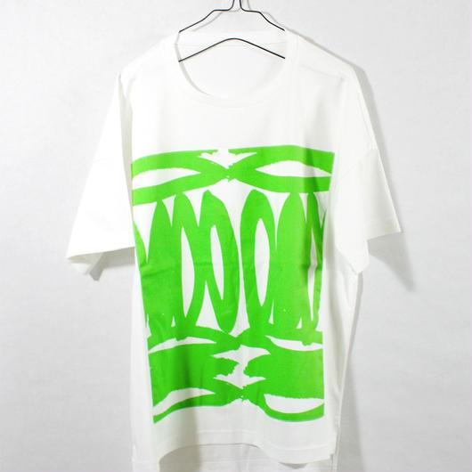ASENDADA T-shirt  / White×Fruit