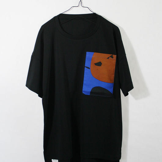 ASENDADA T-shirt  / Black×Fresh  2