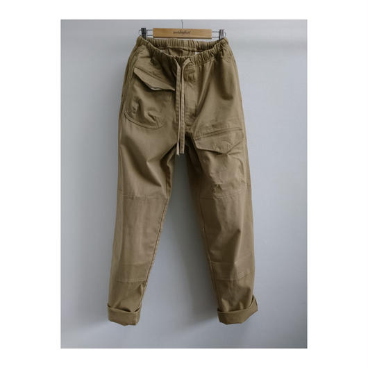 makufuri Six Pockets Utility Work Pants〈Beige 〉