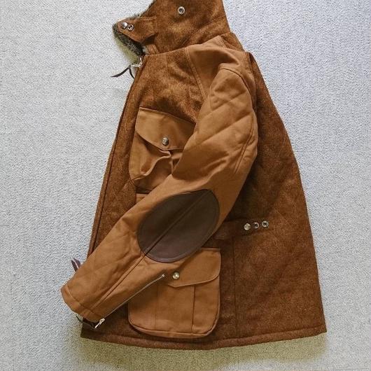 makufuri メルトンフィールドジャケット
