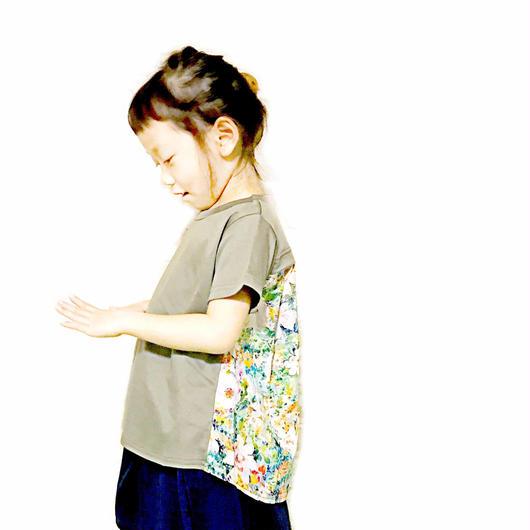 【NNF MB】シルケットスムースバックフレアTシャツ 80-115cm