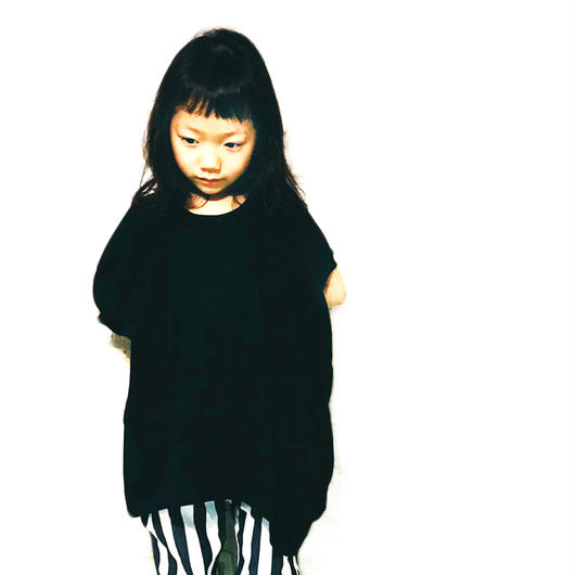 【NNF MB】ブラック変形T  120-145cm