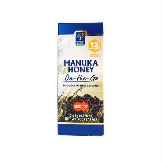 【便利な携帯用マヌカハニー!】マヌカヘルス MGO™ 100+ Manuka Honey On-The-Go - 5g  (12個セット)