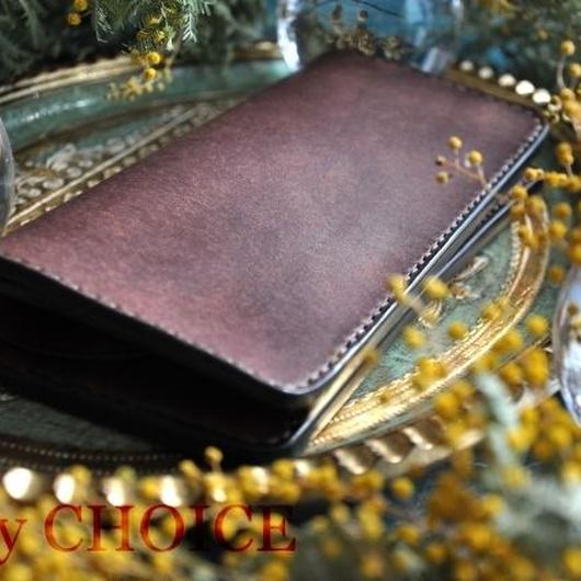 イタリアンレザー・革新のプエブロ・長財布(ショコラ)