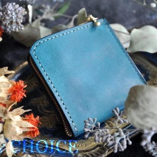 イタリアンレザー・革新のプエブロ・L型財布(オルテシア)