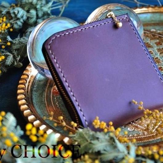 イタリアンバケッタ・ミネルバリスシオ・L型財布(ショコラ)