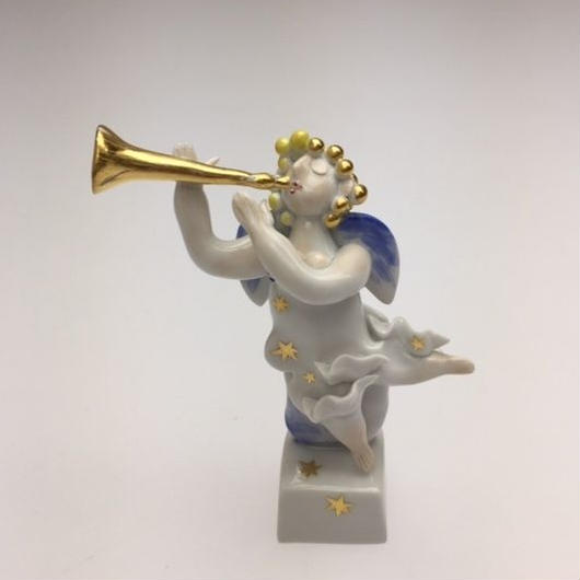 マイセン フィギュリン 「天使の楽隊」インストリウム