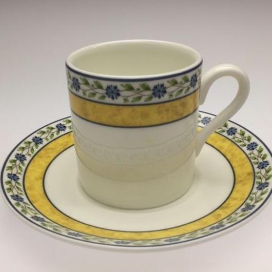 ウェッジウッド ミストラル コーヒーカップ&ソーサー ボンド