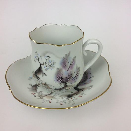 マイセン アーモンドの木 コーヒーカップ&ソーサー