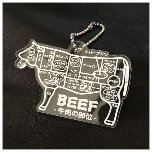 牛肉の部位 ver クリアー 送料込