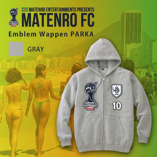 MATENRO FC Emblem Wappen PARKA