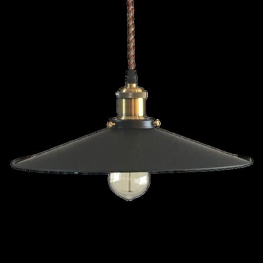 Iron Pendant light 「BRUNO」L size Φ36cm