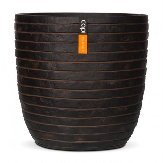 Natural Planter by Capi Europe Pot bol row  28x27
