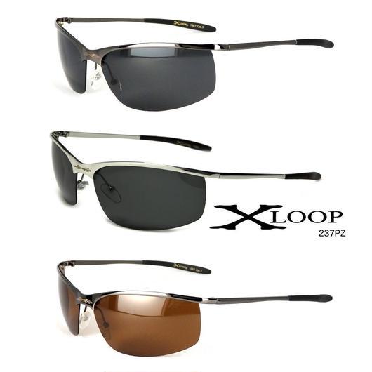 アメリカ X-LOOP バイカー サングラス 偏光レンズ フィッシング サングラス XL237PZ