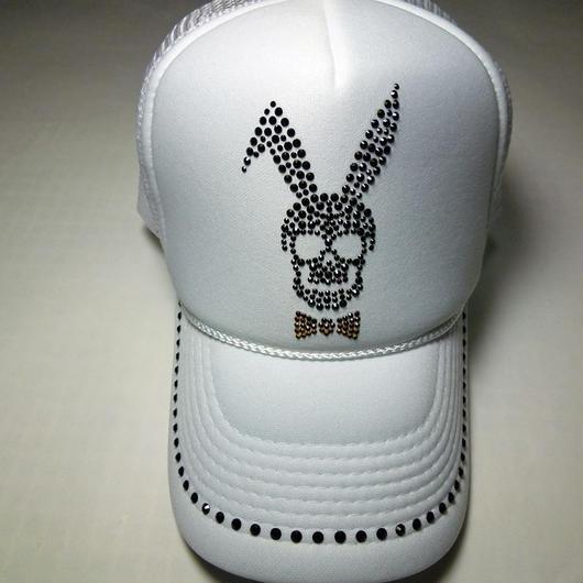 Skull Bunny White