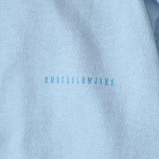 下投狂奏 L/S TEE (LIGHT BLUE)