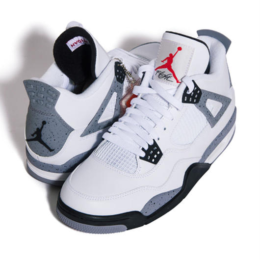 "NIKE AIR JORDAN 4 RETRO ""CEMENT"""