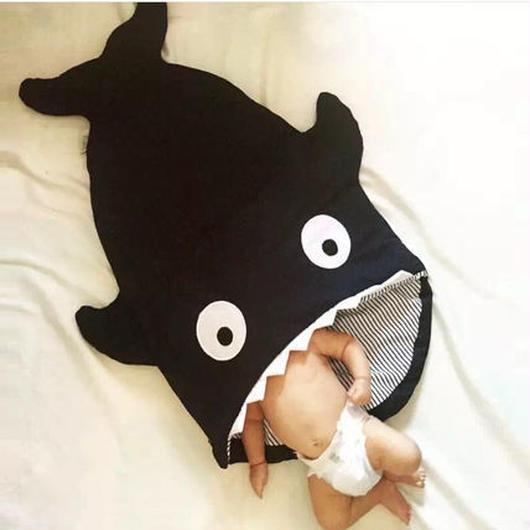 【国内発送】サメのベイビー スリープバッグ  3色